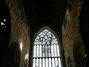 Cartmel Priory inside